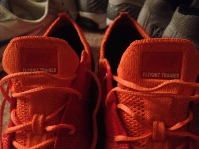 300 Pounds and Running's Nike Flyknit