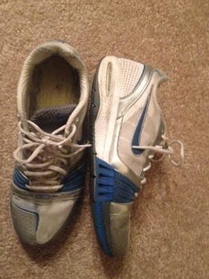 Nike Cross Trainers side