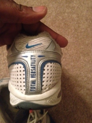 300 Pounds and Running's Cross Trainers