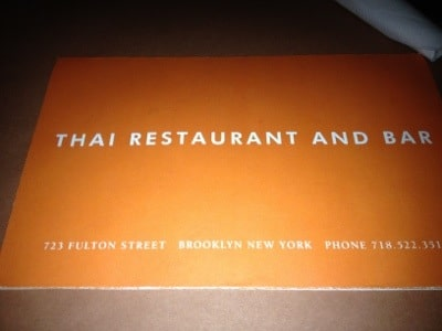 National Thai Restaurant NYC