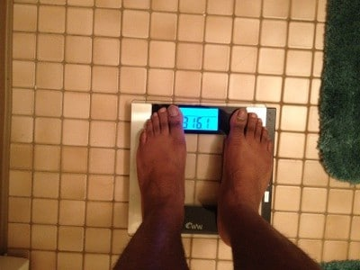 Weigh in 316.1