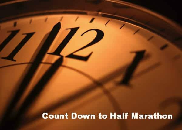 8 Days Til Half Marathon