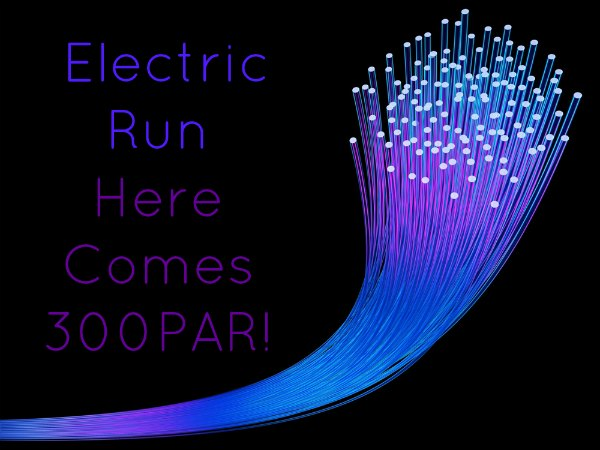 300 Pounds and Running in the Dark!?!?! Electric Run Here I Come