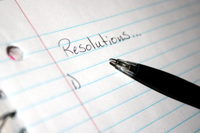 New Year's Resolution Cycle mini goal