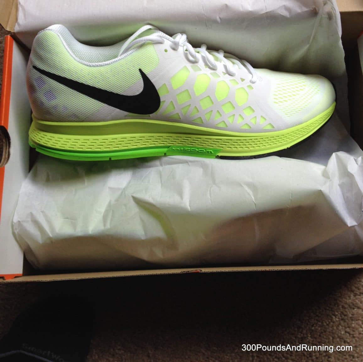 50130b6b5a05 Nike Air Zoom Pegasus 31 Running Shoe Review • 300 POUNDS AND RUNNING