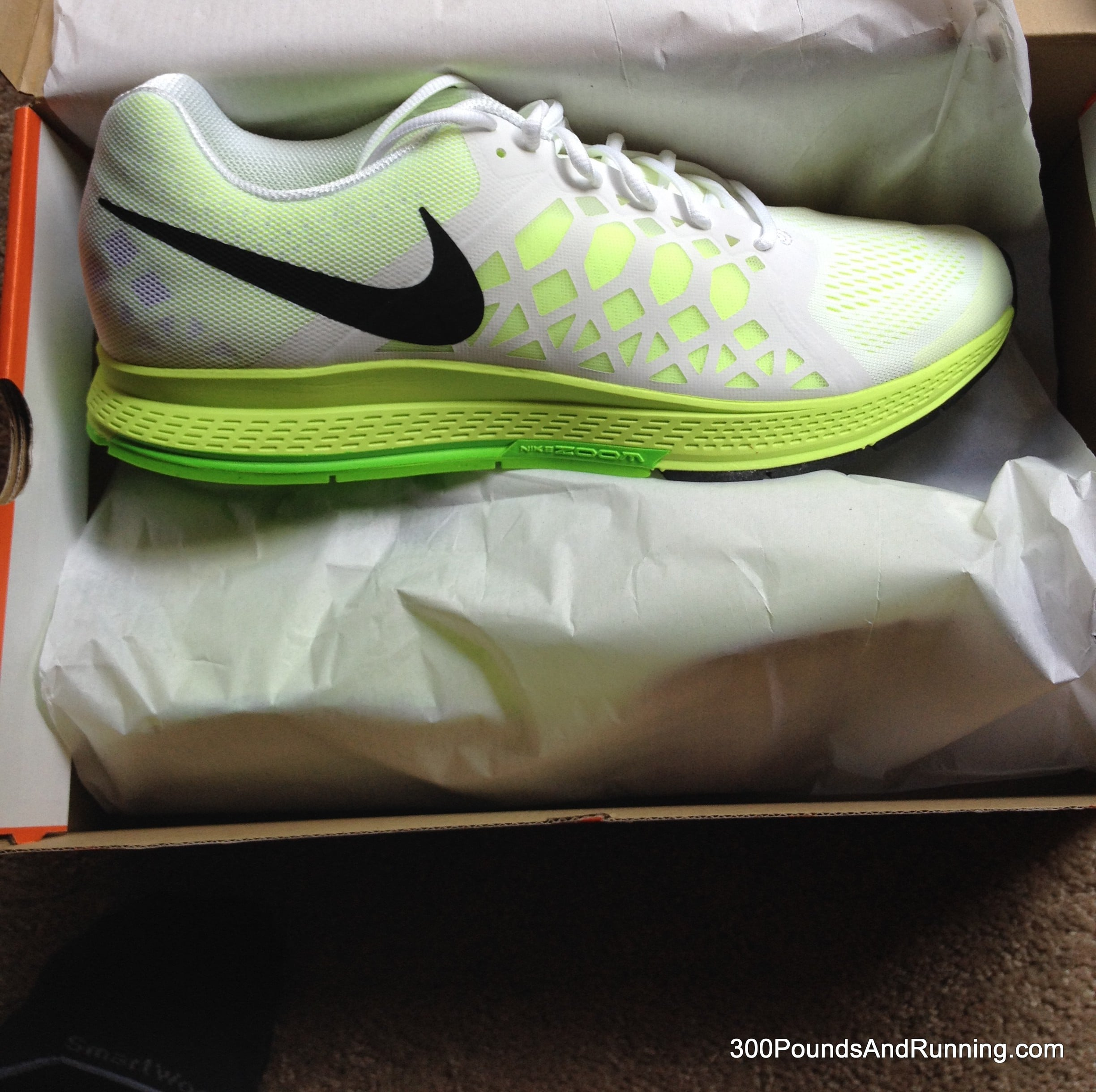 f8879687aab Nike Air Zoom Pegasus 31 Running Shoe Review • 300 POUNDS AND RUNNING