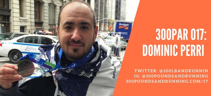 300PAR 017: Dominic Perri – Camelbaks, Bodyglide and Bears…Oh my!
