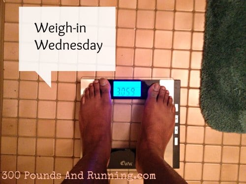 Weigh in Wednesday 1/2/2013